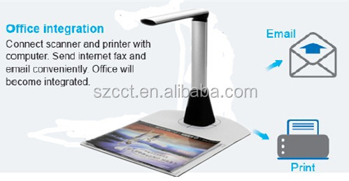 shenzhen Wholesale Portable scanner A3, high speed document scanner for banking, finance department S510-A3