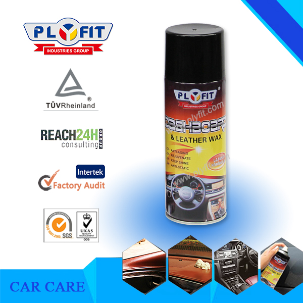 Car Digital Dashboard Leather Polish Shine Spray Wax