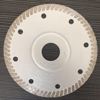 "105mm-350mm tile saw blade , 4"" turbo cutting disc for porcelain tile"