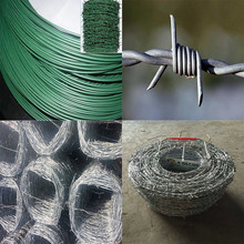 2016 hot sale Barbed wire length per roll