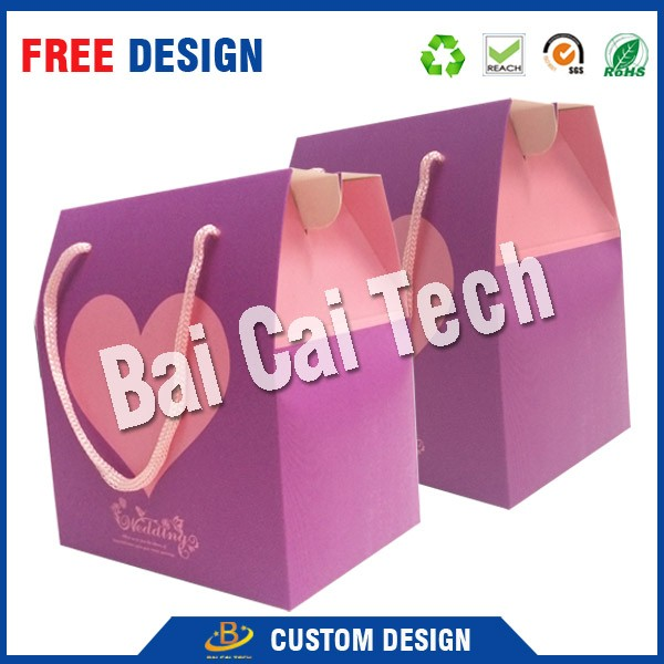 Eco-friendly recycled paper custom cell phone packaging box