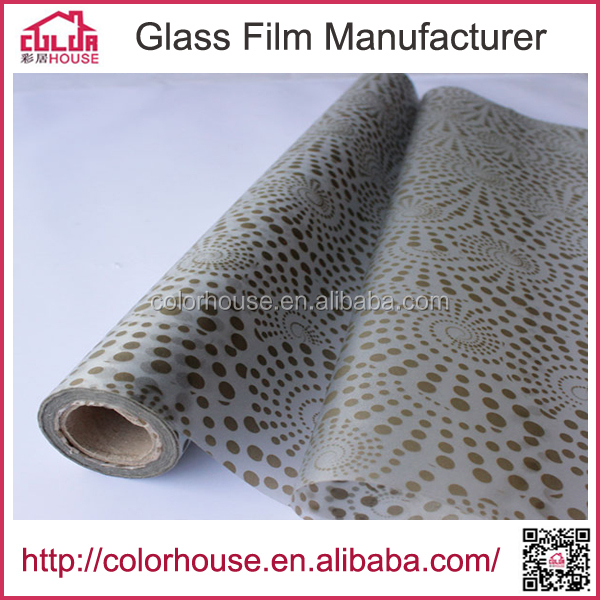 Adhesive PVC Removeable Decorative Films For Windows