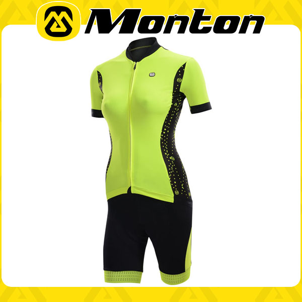 Monton Summer florescence cycle jersey women sets