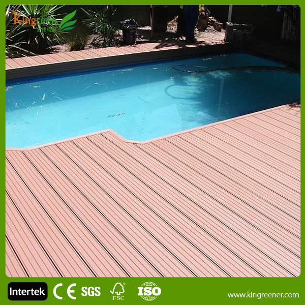 Garden decking pool decking boards materials wpc for Garden decking materials
