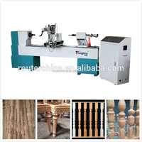baluster cnc wood turning lathe copy attachment spiral wooden stairs lathe
