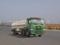 Howo 13 wheels tanker truck/tanks with trailer/tanker truck capacity 8*4 Oil tanker truck