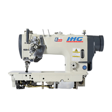 IH-8452 Jack Type High Speed Double Needle Lockstitch Industrial Automatic Sewing Machine With Split Needle Bar