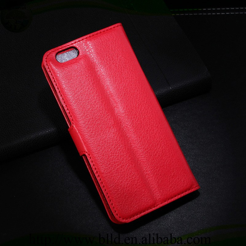 China wholesale wallet style flip cover accsesorio para celular for Iphone 6G