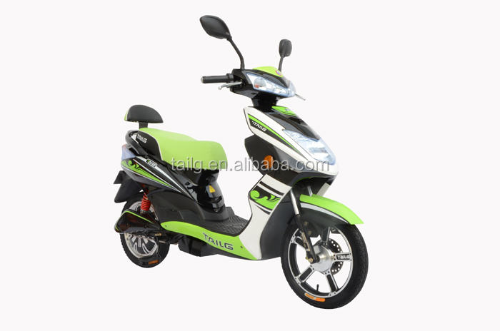 Tailg Cheap small electric scooter moped 350W electric motorcycle with pedals assistant