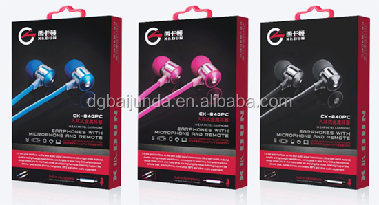 original earphone for samsung galaxy note packaging