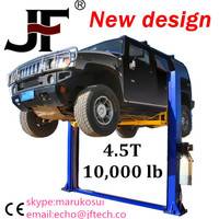 Useful articulated heavy truck wheel lift
