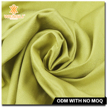 Thick High Quality Plain Dyed Silk and Cotton Blend Fabric