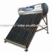 heat pipe integrative pressurized solar water heater