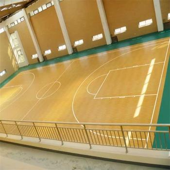 Reliable Manufacturer of Indoor Sports Basketball Court Flooring