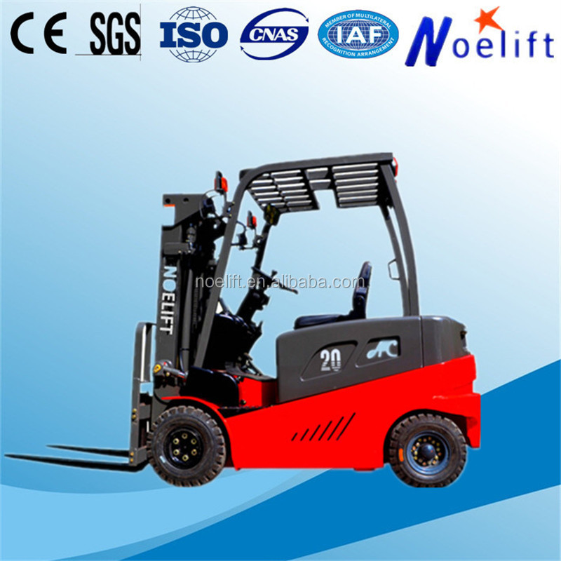 New Condition and Electric forklift Type seated type 4 wheel electric forklift for sale by owner