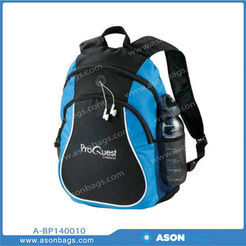 600D Promotional Backpack bag