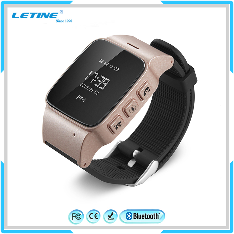 Elder GPS SOS Smart Watch for Family Gift,Emergency GPS Tracker Sim Card Watch Phone