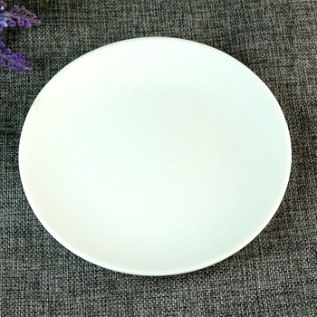 Cheap Stock Smaller White Round Porcelain DInner Plate For Restaurant And Daily Ues