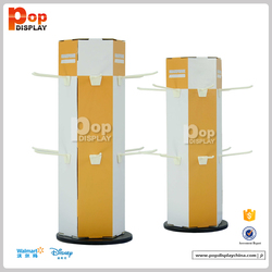 Wholesale paperboard hook display stands for hair extension