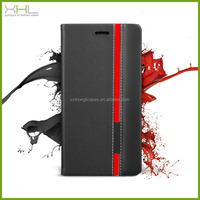 Wholesale fashion flip wallet leather case for Wiko Ozzy, for Wiko Ozzy card slot case cover
