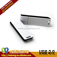 Logo Printing USB Plastic Rectangle USB Flash Memory Disk Download 2.0 Pendriver Key Customized