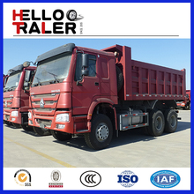 China HOWO 6x4 10-wheel dump truck for Ethiopia