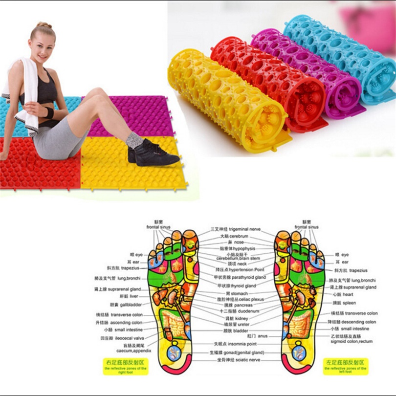 2017 Foot Massage Carpet/Pressure Slab Toe Pad for Foot Fitness