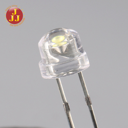 Low voltage 5mm White color high brightness led diode with Resistor inside