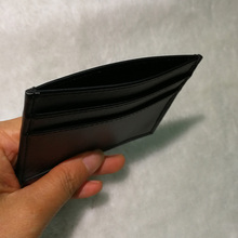Low price of carbon fiber leather wallet