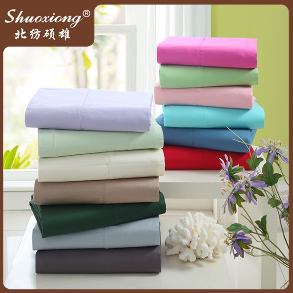 Home Textile Bed Linen 100 Percent Cotton Sheet Set for home
