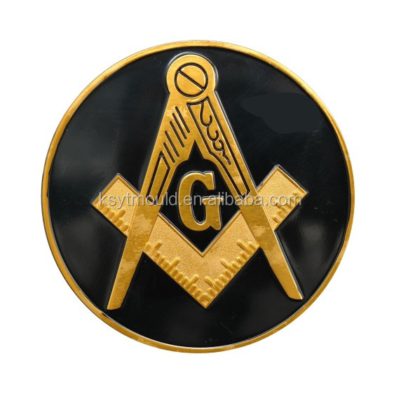 High Quality Wholesale Masonic Items Freemason Car Emblem