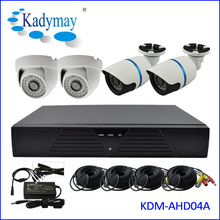 New Arrived!!! Full HD lower cost 1.0megapixel or 1.3megapixel 4 channel cctv system