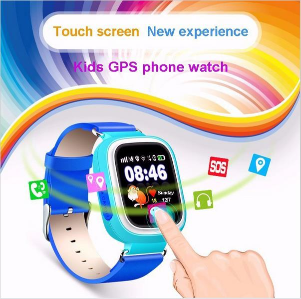 Hot selling smart watch phone 2016 gps tracking device for old man gw300 child tracking mobile phone
