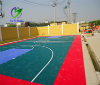 Hot sale PP Float basketball court sports flooring