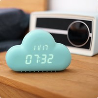 plastic Table Alarm Clock/Hot sale promotional table clock in butterfly design wholesales,bird table clock