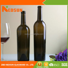 Factory sale top quality Frosted hot sale manufacture glass bottles for wine