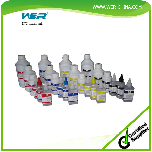 Hot Selling WER Heavy Duty quality pigment textile printing ink