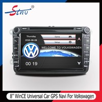 8 Inch Autoradio 2 Din DVD GPS With Touch Screen/Free TF Card/EU Map