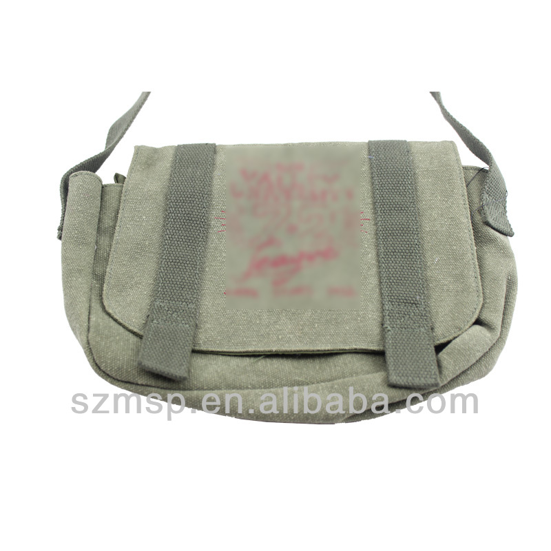 canvas shoulder small kids school bag,message bag for kids