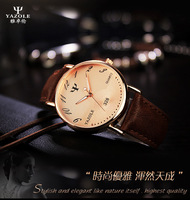 High Quality Quartz Watches Men Japan Movt With Stainless Steel Back Watch in Yazole Brand