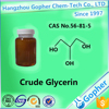 Manufacture Price Of Crude Glycerin 80