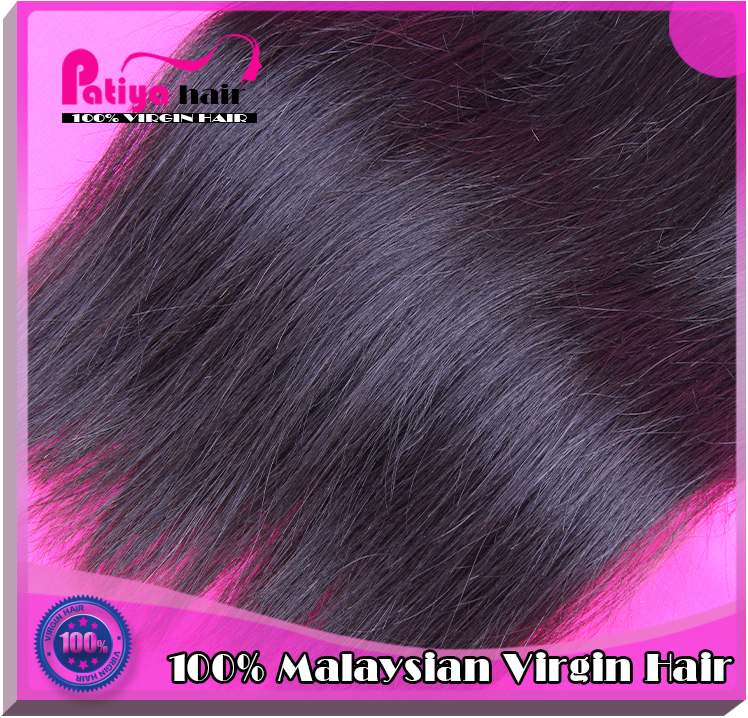 2016 New Arrival thick Ends Raw Unprocessed Straight Human Virgin Malaysian Hair