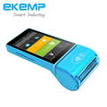 Android Mobile POS Terminal with 58mm Thermal Printer, IC Card Reader and NFC Reader