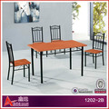 1202-2B knock down Turkey marble top dining table
