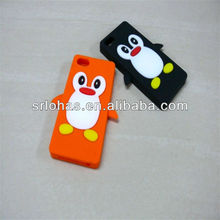 3D soft Silicone Case for iPhone 5 cell phone Cover