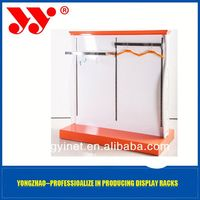 The professional manufacture of retail store clothing wrought iron display rack