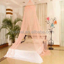 Hanging Circular Decorative Canopy Bed Mosquito Net for an Adult