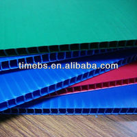 10mm plastic corflute sheet / board,waterproof protection board,pp hollow core sheet