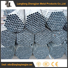 Different types of zinc galvanized malaysia steel prices pipe