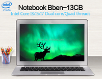 Factory price Dual core Ultrabook high-end 13.3 inch i5 laptop computer
